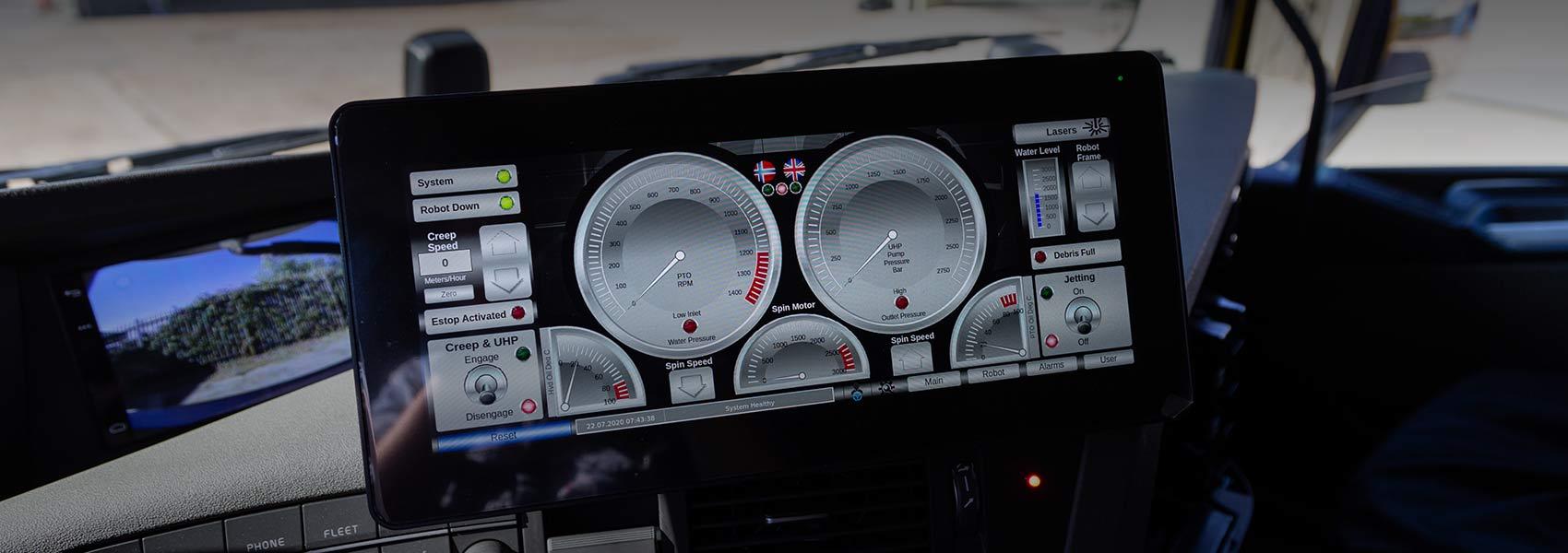 Enhanced control systems for Osprey